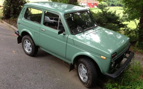 For a car built without particular attention to build quality, this 1987 Lada Niva has held up pretty well.