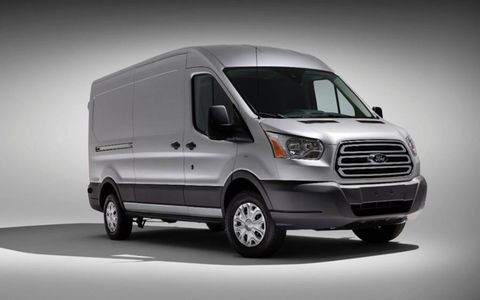 The base 2015 Ford Transit is equipped with a 3.7-liter V6.