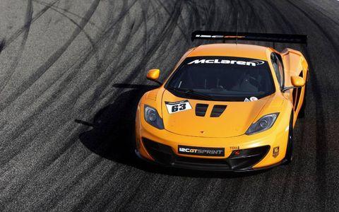 The McLaren 12C GT Sprint will debut at Goodwood.