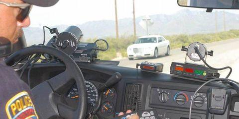 Clocking a Chrysler 300C