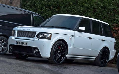 Nothing about this Range Rover suggests that it can protect its occupants from a hail of gunfire -- and that's just how the VIPs inside like it.