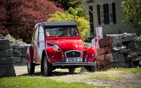 Another 2CV, a local car from Niantic, CT.