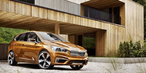 BMW to show its Active Tourer Outdoor concept this weekend
