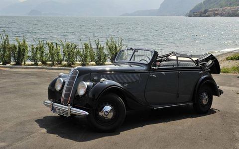 1939 BMW 335 FOUR-DOOR CONVERTIBLE
