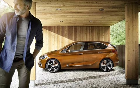 BMW Active Tourer concept is meant to preview new family cars