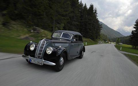 1939 BMW 335 FOUR-DOOR CONVERTIBLE