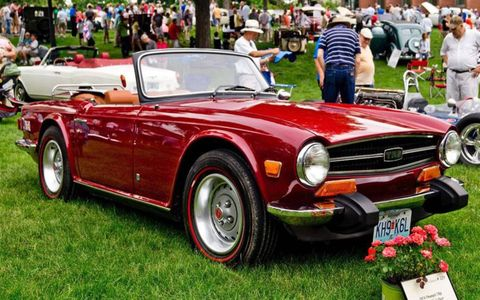 1974 Triumph TR6 owned by Doug Sutton