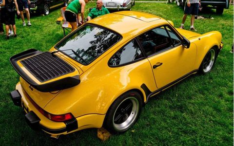 1978 Porsche 930 Turbo owned by Joe Poindexter