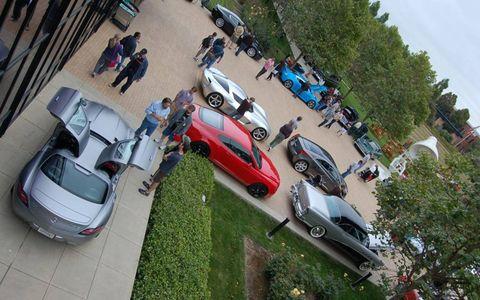 Cars at the Pixar Motorama