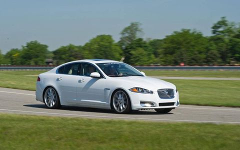 The Cadillac wowed the group on track and easily took top honors, but the Jaguar evoked the most surprise.