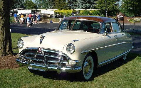 The famous 1952 Hudson Hornet