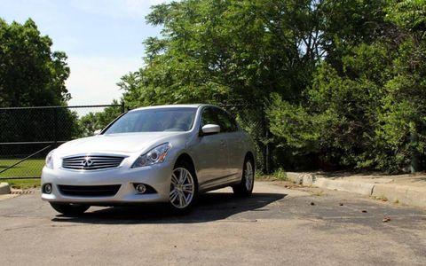 2011 Infiniti G25x sedan AWD