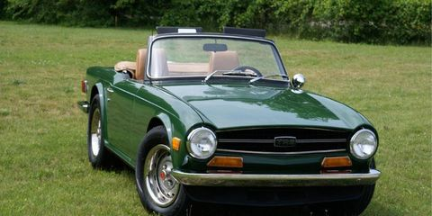As she sits today, my 1969 Triumph TR6 still needs detail work but is an enjoyable driver.