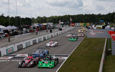 Gustavo Yacaman put OAK Racing on the pole as the Prototypes take the green flag at Canadian Tire Motorsport Park on Sunday.