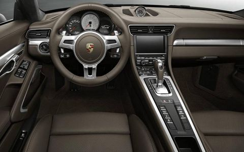 The cabin is what we have come to expect from Porsche, featuring soft leather surfaces throughout the cabin