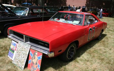 1969 Dodge Charger owned by Kevin Bertram, a Dukes of Hazzard fan