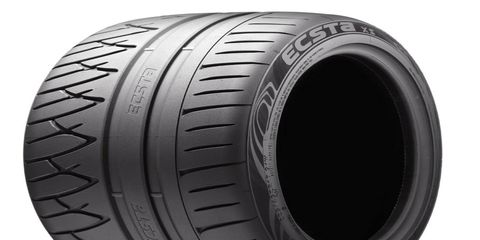 Another high-performance Korean tire that we strongly suggest checking out is Kumho's Ecsta XS, which launched last fall to replace the aging Ecsta MX.