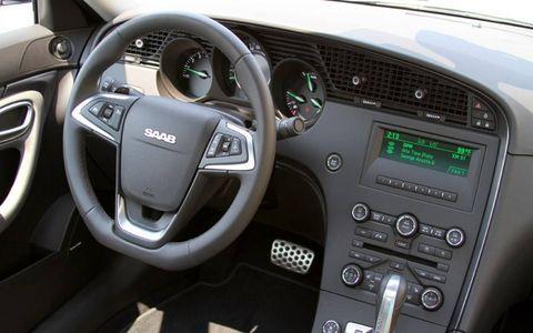 2011 Saab 9-5 Aero Interior