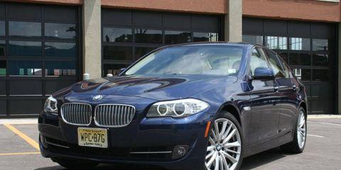 Driver's Log Gallery: 2011 BMW 550i
