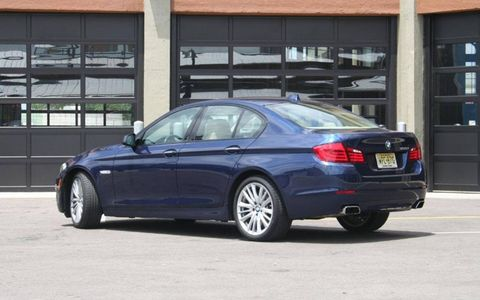 Driver's Log Gallery: 2011 BMW 550i