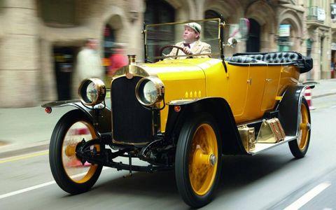 Audi Typ C Alpensieger 1919
