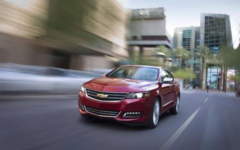 The 2014 Chevrolet Impala 2LTZ receives an epa-estimated 19 mpg in the city and 29 mpg on the highway.