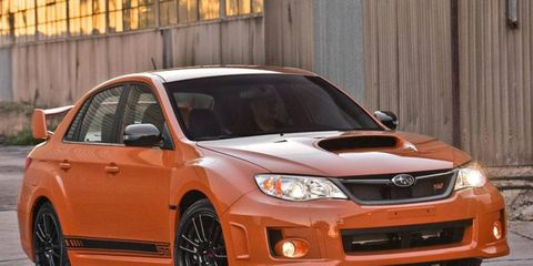 We actually don't mind the tangerine-orange color for the car; it's outlandishly acceptable