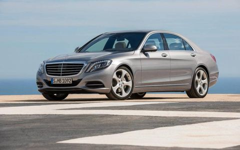 Mercedes deems the S-Class the best car in the world