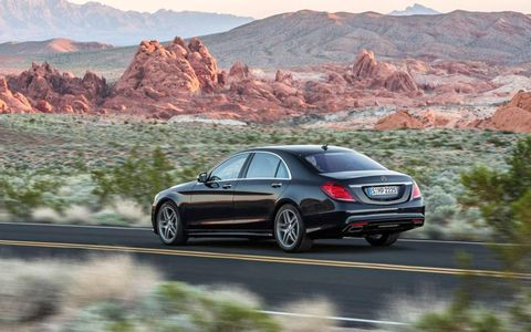 On the safety front, the S-class boasts more systems and features than we've ever encountered on a car