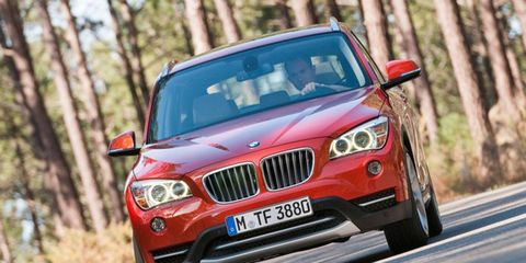 New to the U.S. market, the BMW X1 has been offered in Europe since 2009.