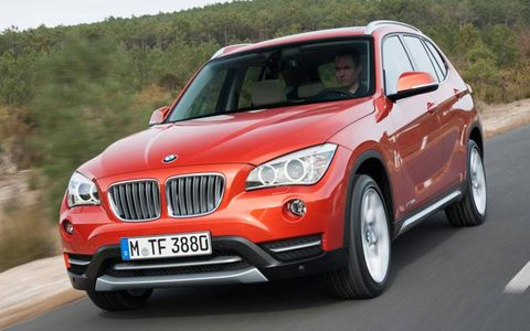 Like the X3 and the X5, there's nothing too dramatic about the X1's exterior styling, which in the smaller model seems closer to a tall hatchback than an SUV.