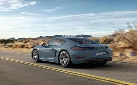 While Porsche didn't change much on the exterior of its Cayman, it's the changes inside that count.