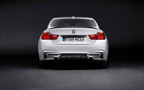 The 4-series package power output for the 428i is 269 hp and 287 lb-ft of torque, while the 435i gets 336 hp and 332 lb-ft