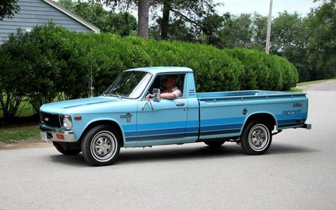 When was the last time you saw a Chevrolet LUV?