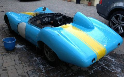 This 1956 Elva MkII is for sale through Bring a Trailer.