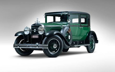 This stately 1928 Cadillac V8 Town Sedan was once owned by legendary mobster Al Capone.