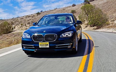 Top of the line BMW 7-series luxury comes at a price, $142,795 to be exact