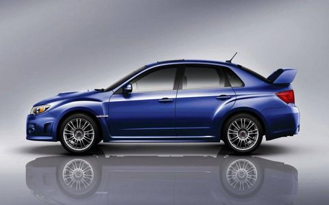 The 2011 Impreza WRX STI sedan