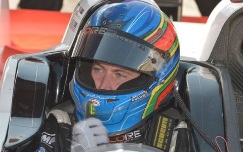 Colin Braun helped Core Autosport bring home the win in PC class racing at Canadian Tire Motorsports Park on Sunday.
