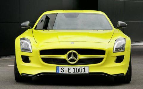 Mercedes-Benz SLS E-Cell