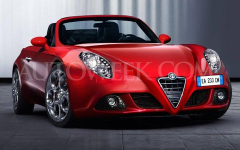 The design theme for the new Spider will be inspired by the past yet modern like the 4C