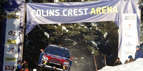 Sebastien Loeb at Rally Sweden