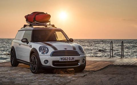 The Getaway concept cars are perfect for outdoors adventures.