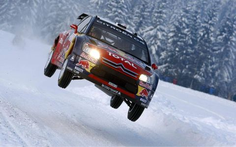 Sebastien Loeb at Rally Norway
