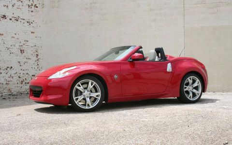 Driver's Log Gallery: 2010 Nissan 370Z Roadster