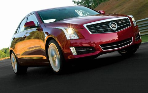 The 2013 Cadillac ATS will compete against the BMW 3-series, Mercedes-Benz E-class, Audi A4 and Lexus IS.