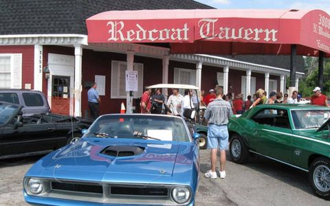 The Redcoat Tavern boasts one of the best burgers in the state of Michigan.