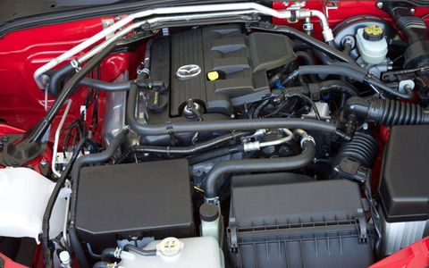 The 2.0-liter I4 produces 167 hp and 140 lb-ft of torque
