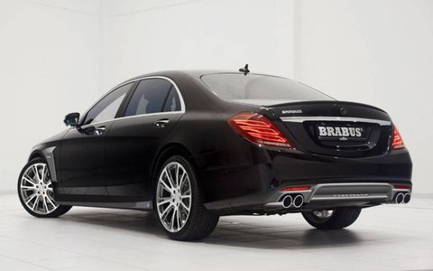 The Brabus Mercedes-Benz S-Class is offered in three power levels.