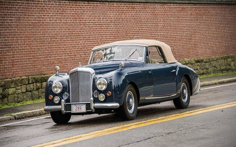 Here's a rare coachbuilt Bentley Continental by Graber.